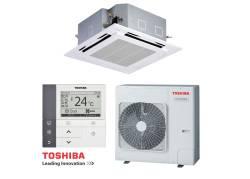 Касетъчен климатик Toshiba...