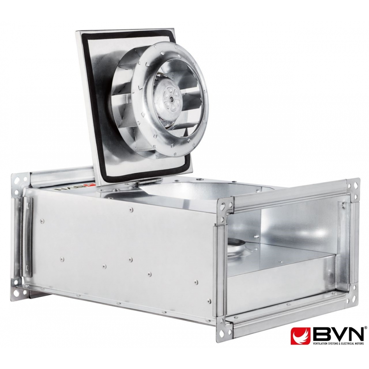 Правоъгълен Канален Вентилатор BVN BDKF 70-40 B