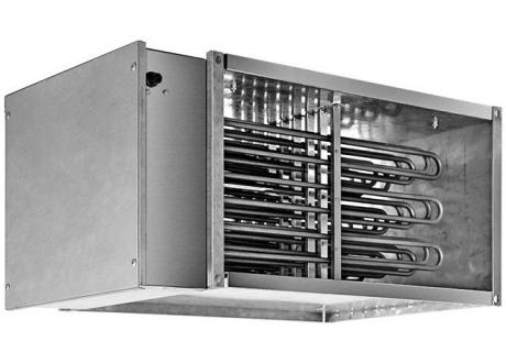 Правоъгълни ел. нагреватели за въздуховоди
