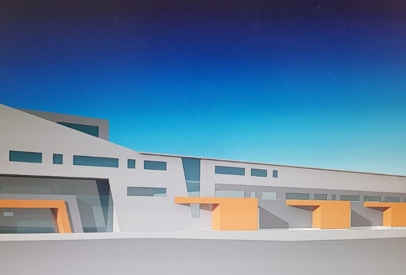 Складова и административна сграда на Мони Трейд